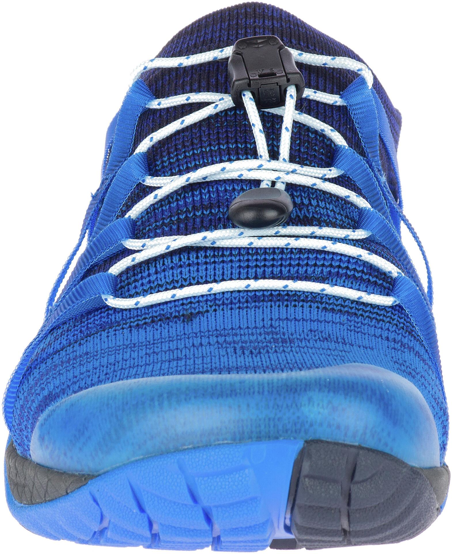 Merrell Trail Glove 4 Knit Chaussures Femme Grisbleu Sur Campz !